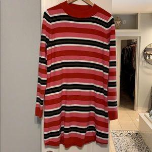 Free people striped sweater dress